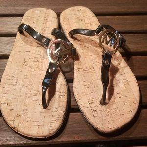 Michael Kors black sandals size 8